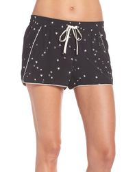 UGG - Ugg Haddie Silk Sleep Shorts - Lyst