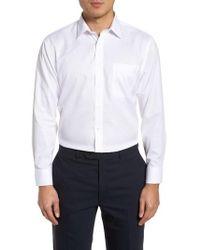 Nordstrom - Smartcare(tm) Trim Fit Dress Shirt - Lyst