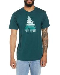 Casual Industrees - Johnny Tree Rainier Graphic T-shirt - Lyst