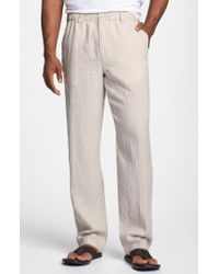 Tommy Bahama - 'new Linen On The Beach' Easy Fit Pants - Lyst