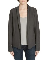 Eileen Fisher - Washable Stretch Crepe Jacket - Lyst