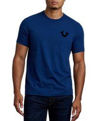 True Religion - True Religion Staple Stitch Buddha T-shirt - Lyst