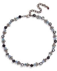 Sorrelli - Crystal Collar Necklace - Lyst