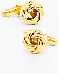 Ox and Bull Trading Co. - Knot Cuff Links - Lyst