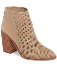 Steve Madden - Rumble Perforated Bootie - Lyst