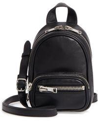 Alexander Wang - Mini Attica Leather Backpack Shaped Crossbody Bag - - Lyst