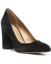 Sarto | Aziza Block Heel Pump | Lyst