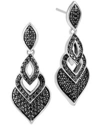 John Hardy - Legends Naga Drop Earrings - Lyst