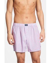 Polo Ralph Lauren - Woven Boxer Shorts - Lyst
