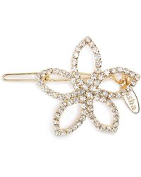 Tasha - Crystal Flower Barrette - Lyst