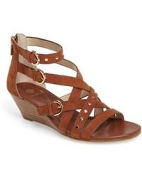 Isola - Petra Strappy Wedge Sandal - Lyst