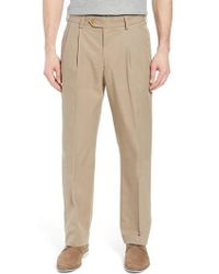 Bills Khakis - M2 Classic Fit Pleated Travel Twill Pants - Lyst