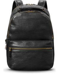 Shinola - Bison Runwell Leather Backpack - Lyst