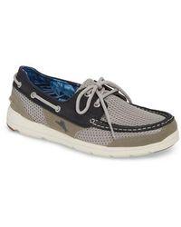Tommy Bahama - On Par Woven Boat Shoe - Lyst