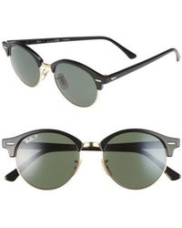 Ray-Ban - Clubround 51mm Sunglasses - Lyst