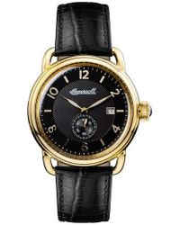 INGERSOLL WATCHES - Ingersoll New England Leather Strap Watch - Lyst