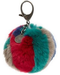 Rebecca Minkoff - Genuine Fox Fur Bag Charm - Lyst