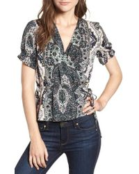 Cupcakes And Cashmere - Kabrina Print Top - Lyst