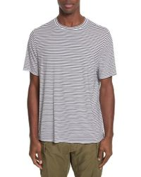 Ovadia And Sons | Raw Edge Stripe T-shirt | Lyst