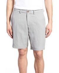 Tommy Bahama - Monterey Flat Front Silk & Linen Shorts - Lyst