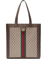 Gucci - Large Gg Supreme Canvas Tote - - Lyst