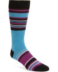 Ted Baker - Ruuth Stripe Socks - Lyst