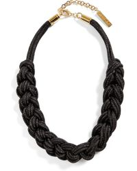 Lafayette 148 New York - Braided Mesh Necklace - Lyst