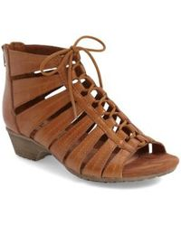 Cobb Hill - 'gabby' Lace-up Sandal - Lyst