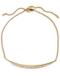 Nadri - 'tattoo' Encrusted Adjustable Bracelet - Lyst