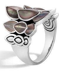 John Hardy - Legends Naga Mother-of-pearl Saddle Ring - Lyst
