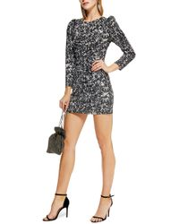 TOPSHOP - Daisy Ruched Minidress - Lyst