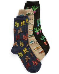 Hot Sox - 3-pack Socks, Black - Lyst