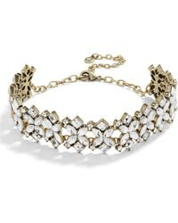 BaubleBar - Annelle Crystal Collar Necklace - Lyst