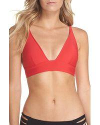 J.Crew | J.crew Farrah Triangle Bikini Top | Lyst