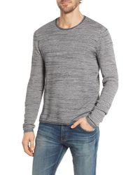 Grayers - Bird's Eye Cotton Jacquard Sweater - Lyst