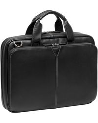 Johnston & Murphy - Leather Briefcase - - Lyst
