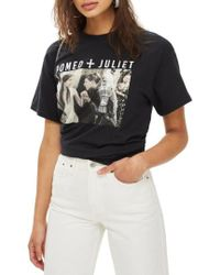 TOPSHOP - By And Finally Romeo & Juliet Tee - Lyst