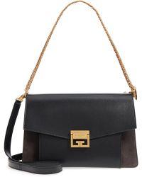Givenchy - Medium Gv3 Leather Crossbody Bag - Lyst
