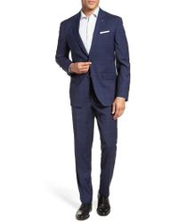 Ted Baker - Jay Trim Fit Wool Suit - Lyst