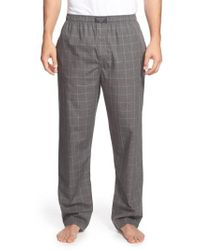 Polo Ralph Lauren - Cotton Pajama Pants - Lyst
