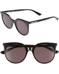 McQ - 52mm Cat Eye Sunglasses - Lyst