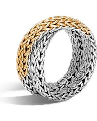 John Hardy - 'classic Chain' Overlap Ring - Lyst