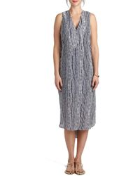 Loyal Hana - 'january' Print Maternity/nursing High/low Dress - Lyst