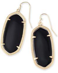 Kendra Scott - Elle Filigree Drop Earrings - Lyst