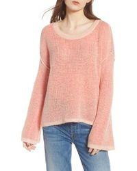Splendid - Bell Sleeve Sweater - Lyst