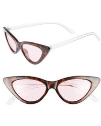 Circus by Sam Edelman - 55mm Extreme Cat Eye Sunglasses - - Lyst