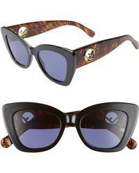 5f24595782 Fendi Ffm0039 Sunglasses in Gray - Lyst