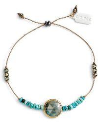 Ela Rae - Sylvie Semiprecious Stone Bracelet - Lyst