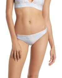 Hurley - Floral Bikini Bottoms - Lyst
