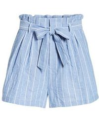 BISHOP AND YOUNG - Bishop + Young Paperbag Waist Shorts - Lyst